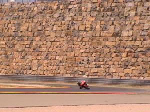 El espectacular muro de Motorland