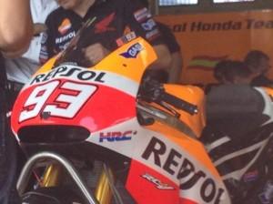 Honda prueba el freno trasero accionado por el pulgar