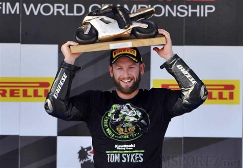 Tom Sykes Podio