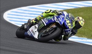 Valentino Rossi se coloca en ventaja por el subcampeonato