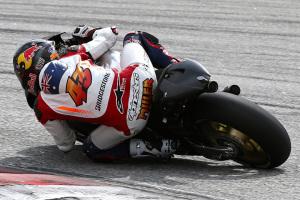 Miller sigue agrupado con la moto