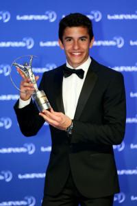 El año anterior Marc ganó el premio al deportista revelación