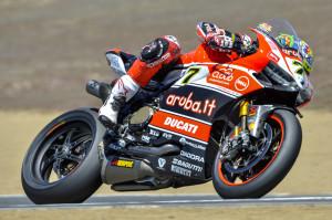Chaz Davies WSBK Laguna Seca 2015 Ducati - MotorLuNews