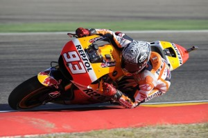 Marc ha luchado al límite con Lorenzo por la pole