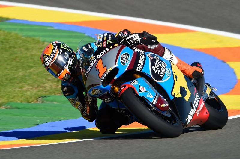 Tito Rabat se despide de la categoría de Moto2 en lo más alto del podio