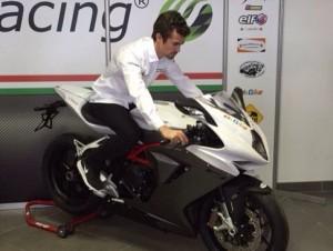 Nico volverá a lomos de una MV Agusta