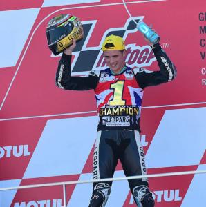 Danny Kent regresa a Moto2 con el título y su mismo equipo
