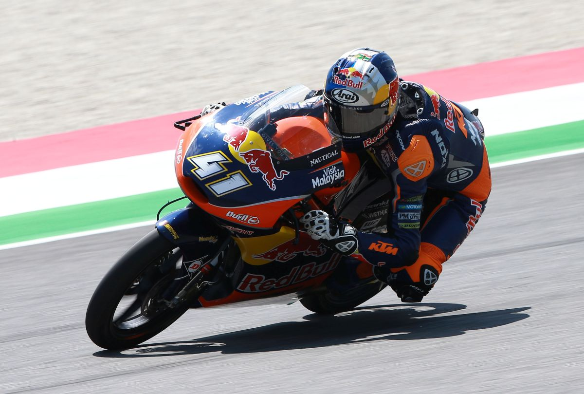 Brad Binder Red Bull KTM Ajo Mugello 2016 - MotorLu News