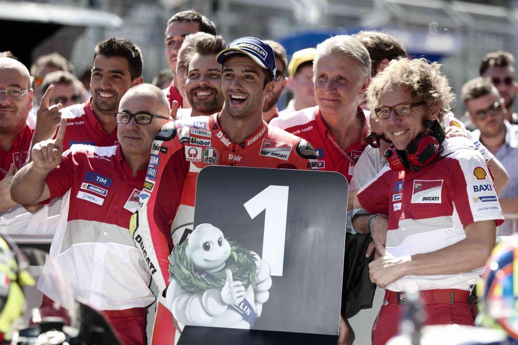 Iannone se va de Ducati dejando huella