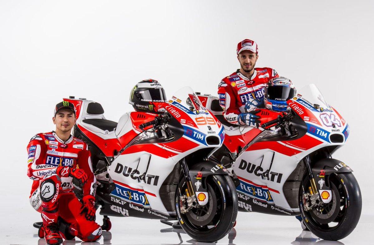 Presentación de Ducati, y Jorge Lorenzo