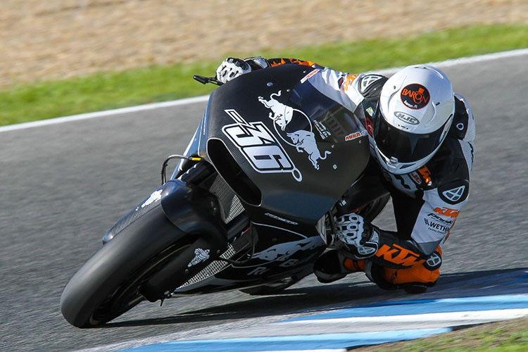Kallio prueba 3 nuevos chasis en la KTM