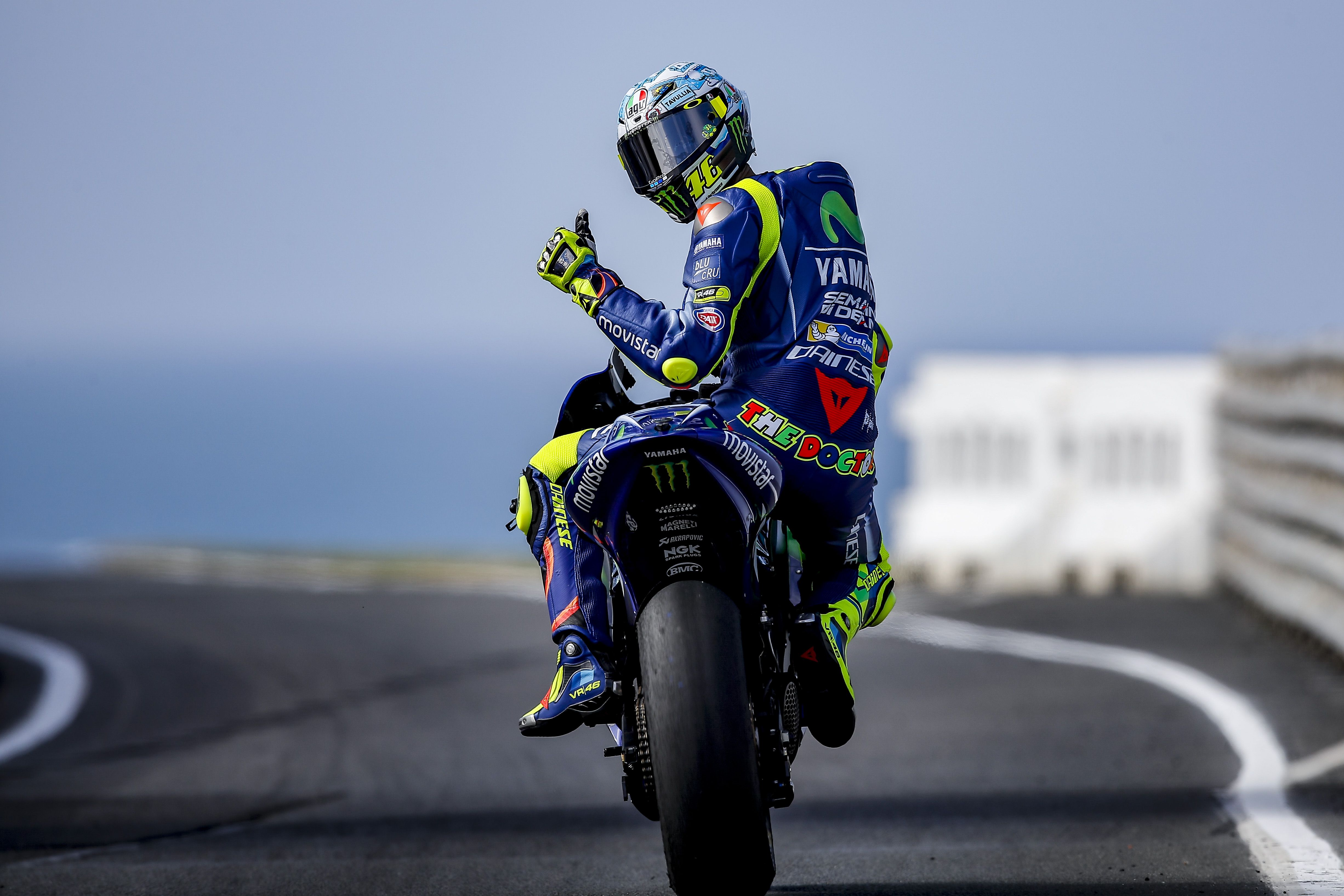 Rossi: No era suficientemente rápido