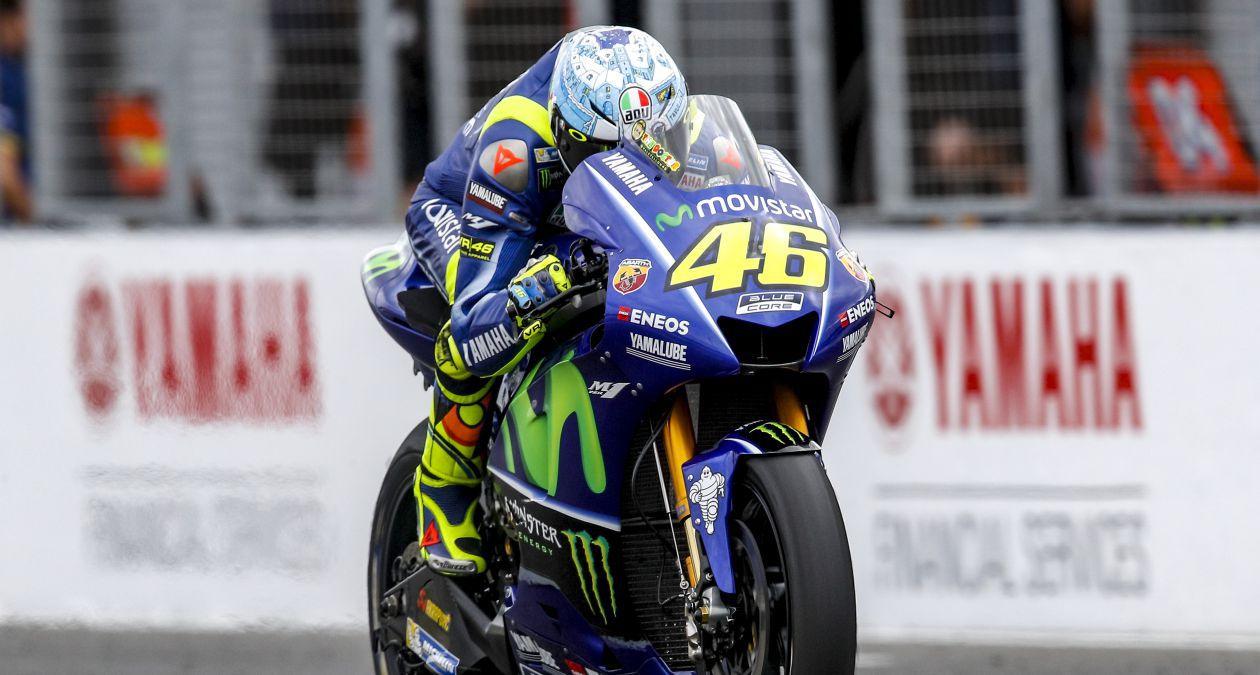 Rossi, disconforme con su rendimiento