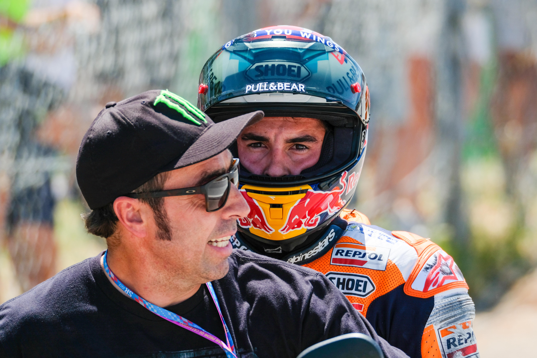 """Márquez: """"Me veo capaz de luchar por el podio"""""""
