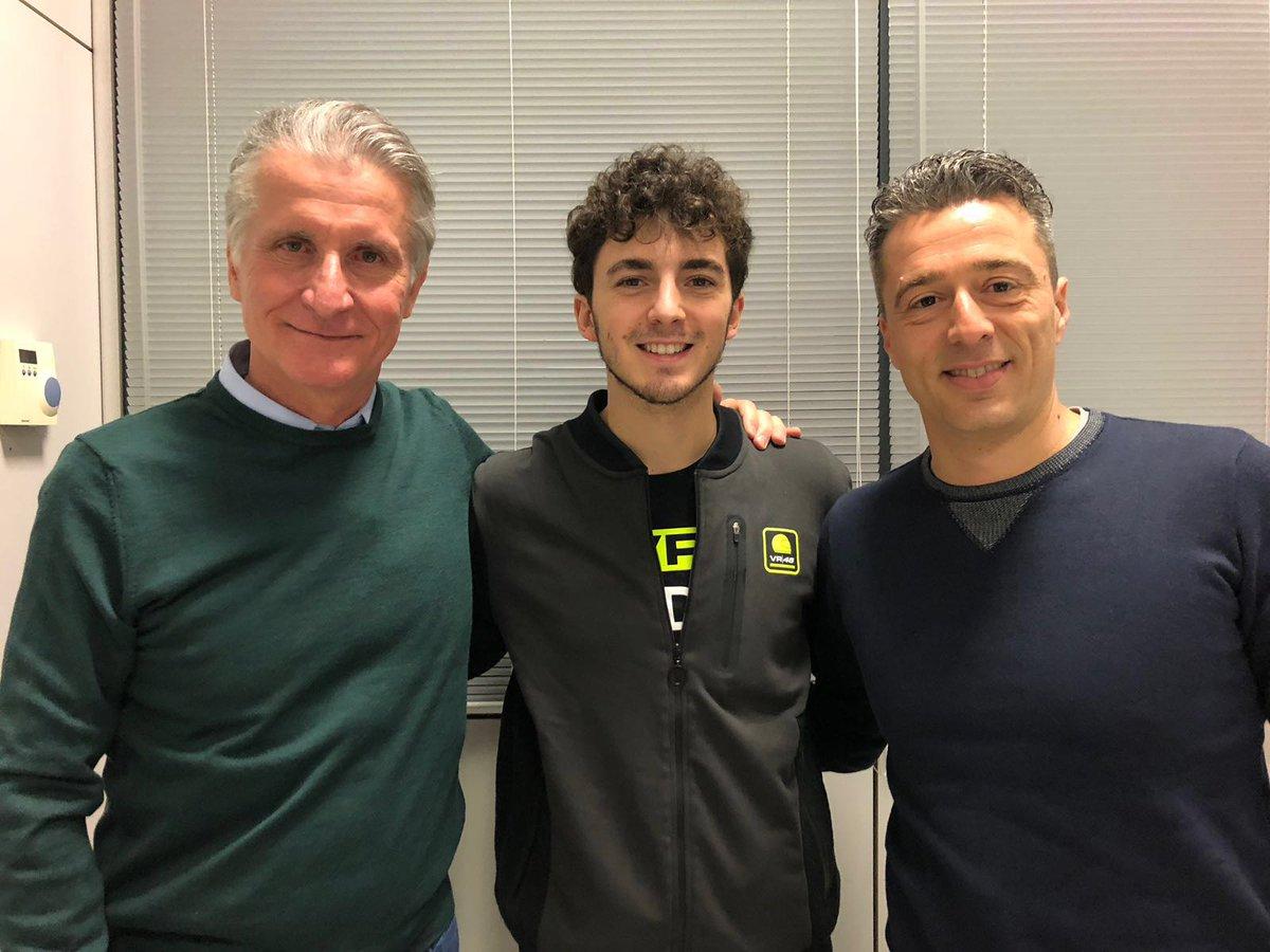 Pecco Baganaia sube el último peldaño y llegará a MotoGP de la mano de Ducati