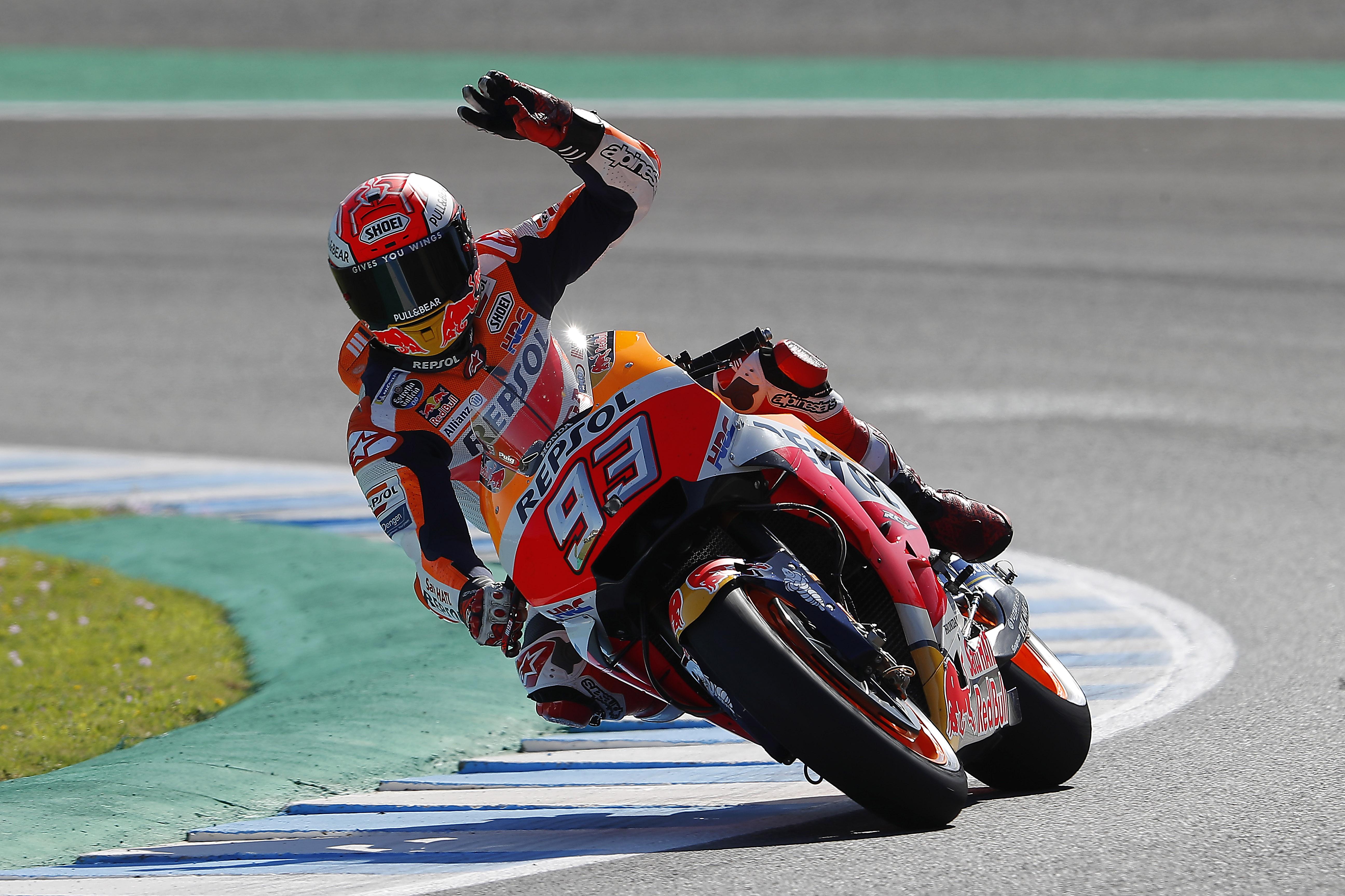Márquez recuerda 2014 en Jerez