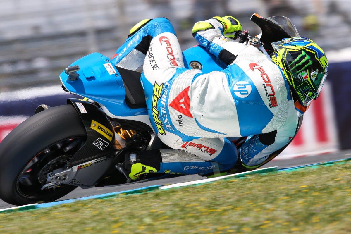 Lorenzo Baldassarri vuelve a ganar para Italia. Oliveira devuelve a KTM al podio y Bagnaia se confirma como líder