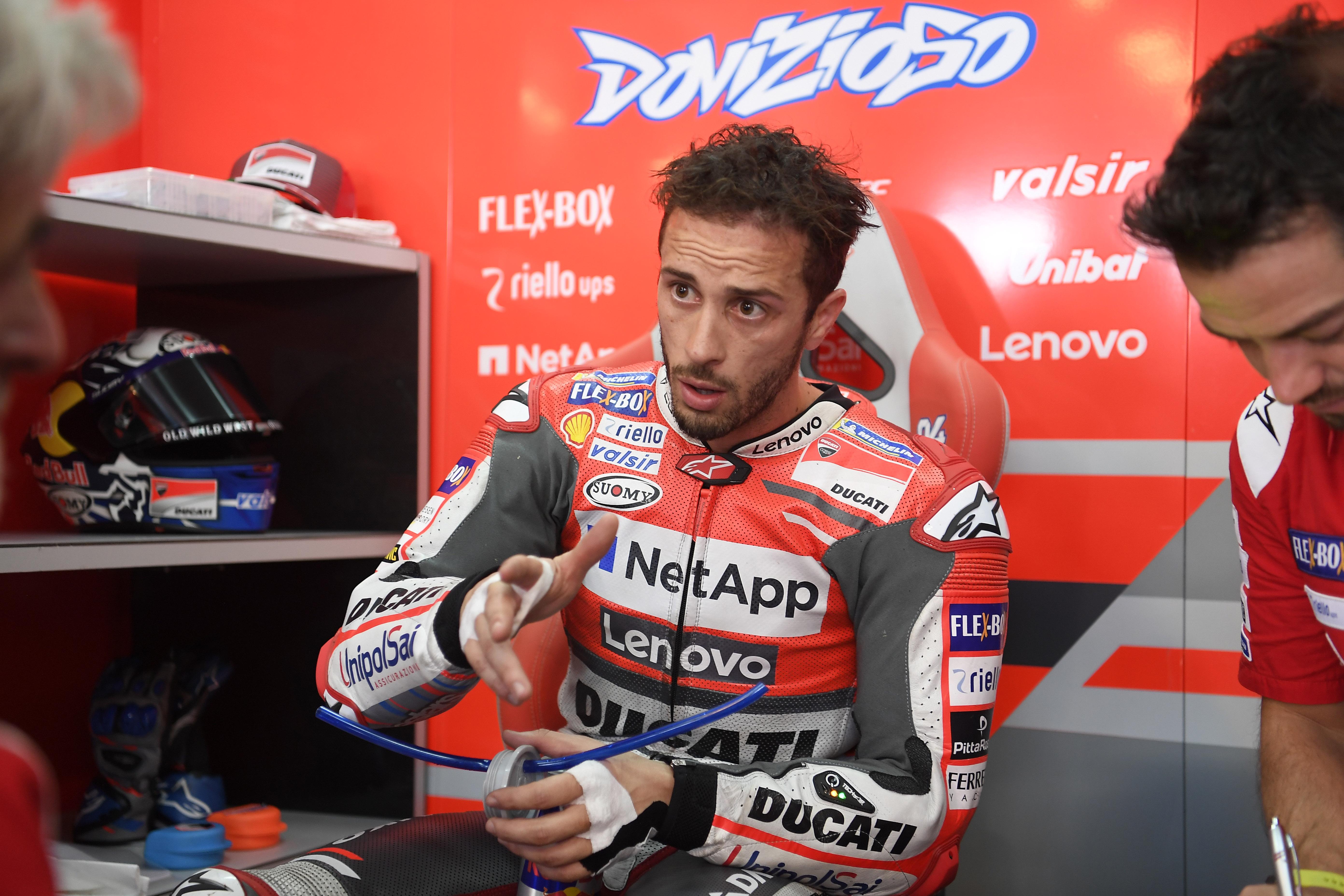 """Andrea Dovizioso: """"si Lorenzo no hubiese caído, no habría cambiado la carrera"""""""