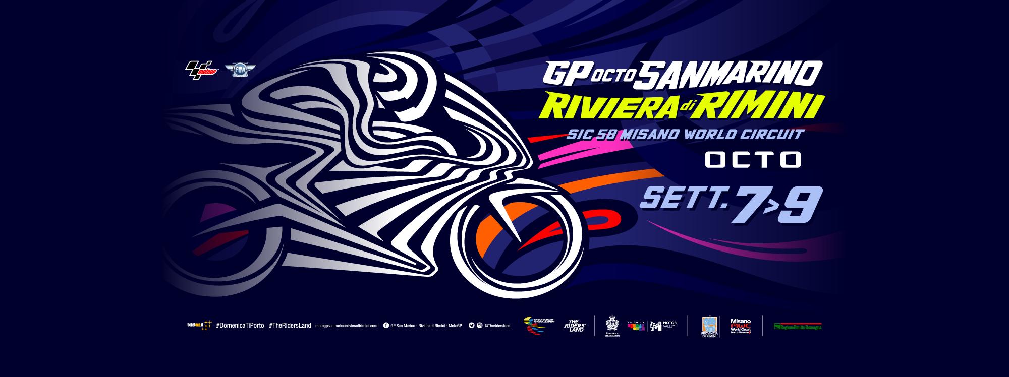 Gran Premio Octo di San Marino e della Riviera di Rimini – Horario Mundial / World Schedule / Orari Universali
