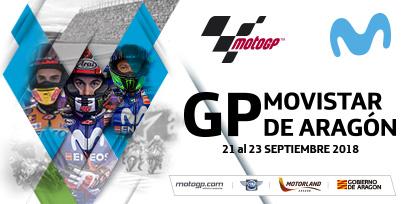 Gran Premio Movistar de Aragón – Horario Mundial / World Schedule / Orari Universali