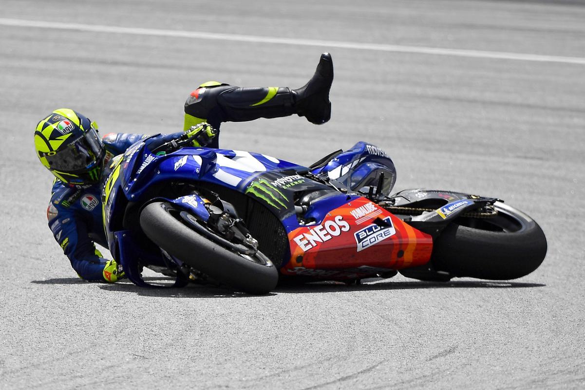"""Valentino inventa las """"Victorias Metafísicas"""" en MotoGP"""