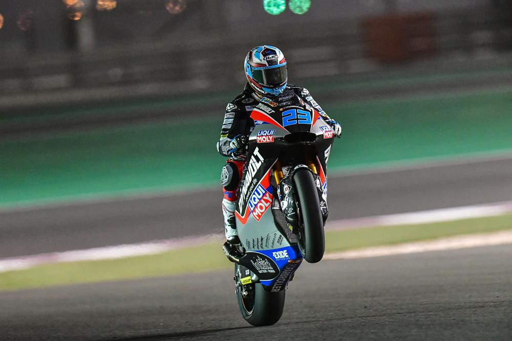 Marcel Schrotter hace la pole con la mejor vuelta de una Moto2 en Losail