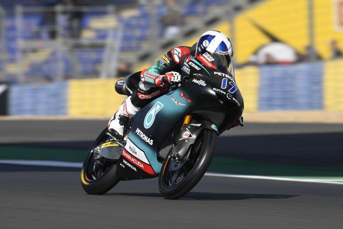 John McPhee consigue la pole en en el GP de Francia tras pasar por la Q1