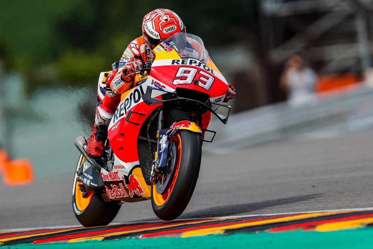 Marc Márquez consigue su décima pole consecutiva en Sachsering
