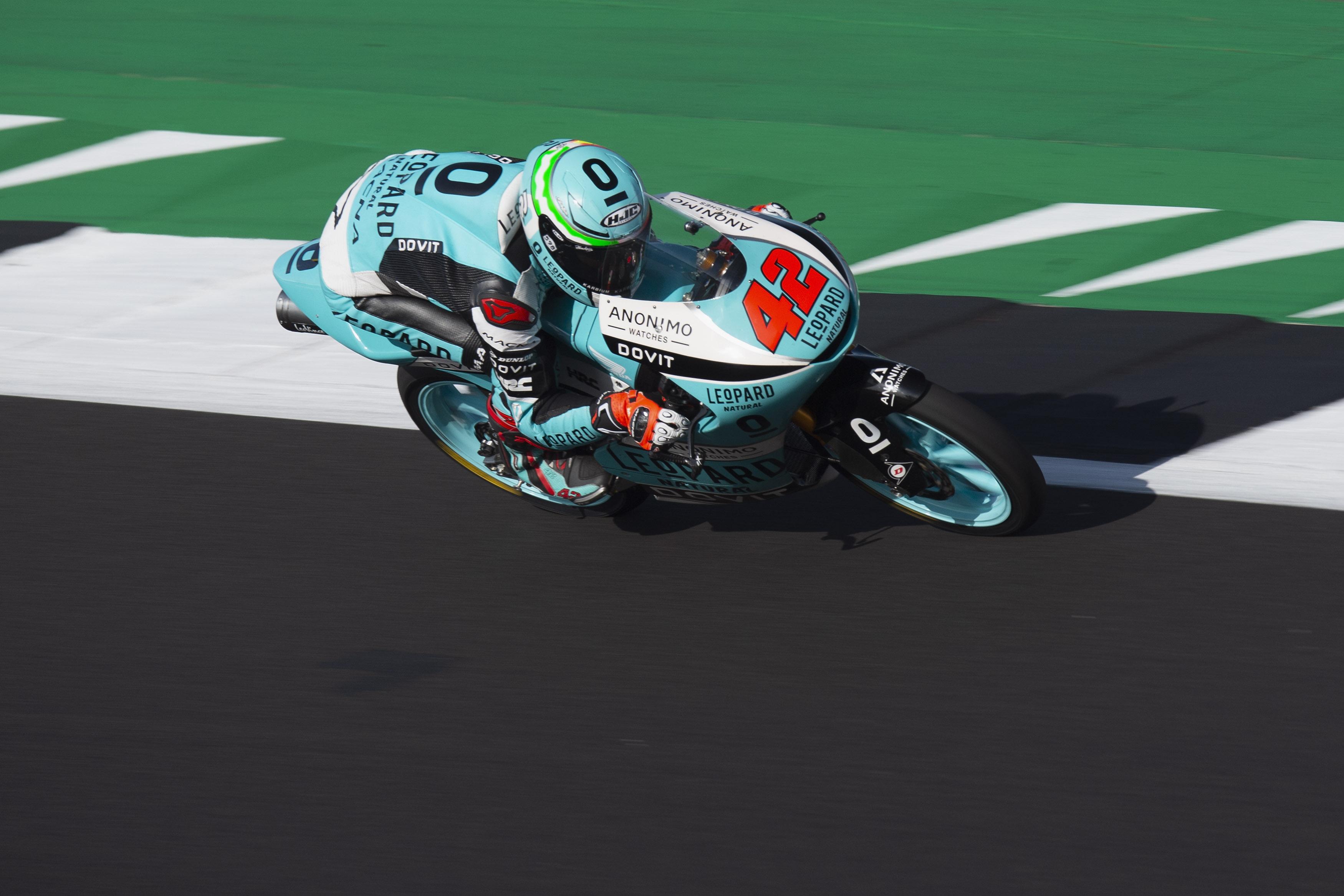 Marcos Ramírez gana su segunda carrera en un día mágico para el Leopard Racing