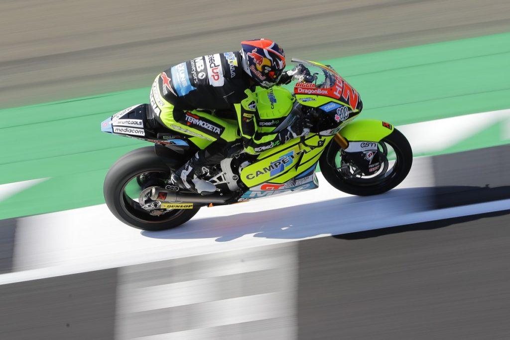 Fabio Di Giannatonio se estrena en San Marino con su primera pole