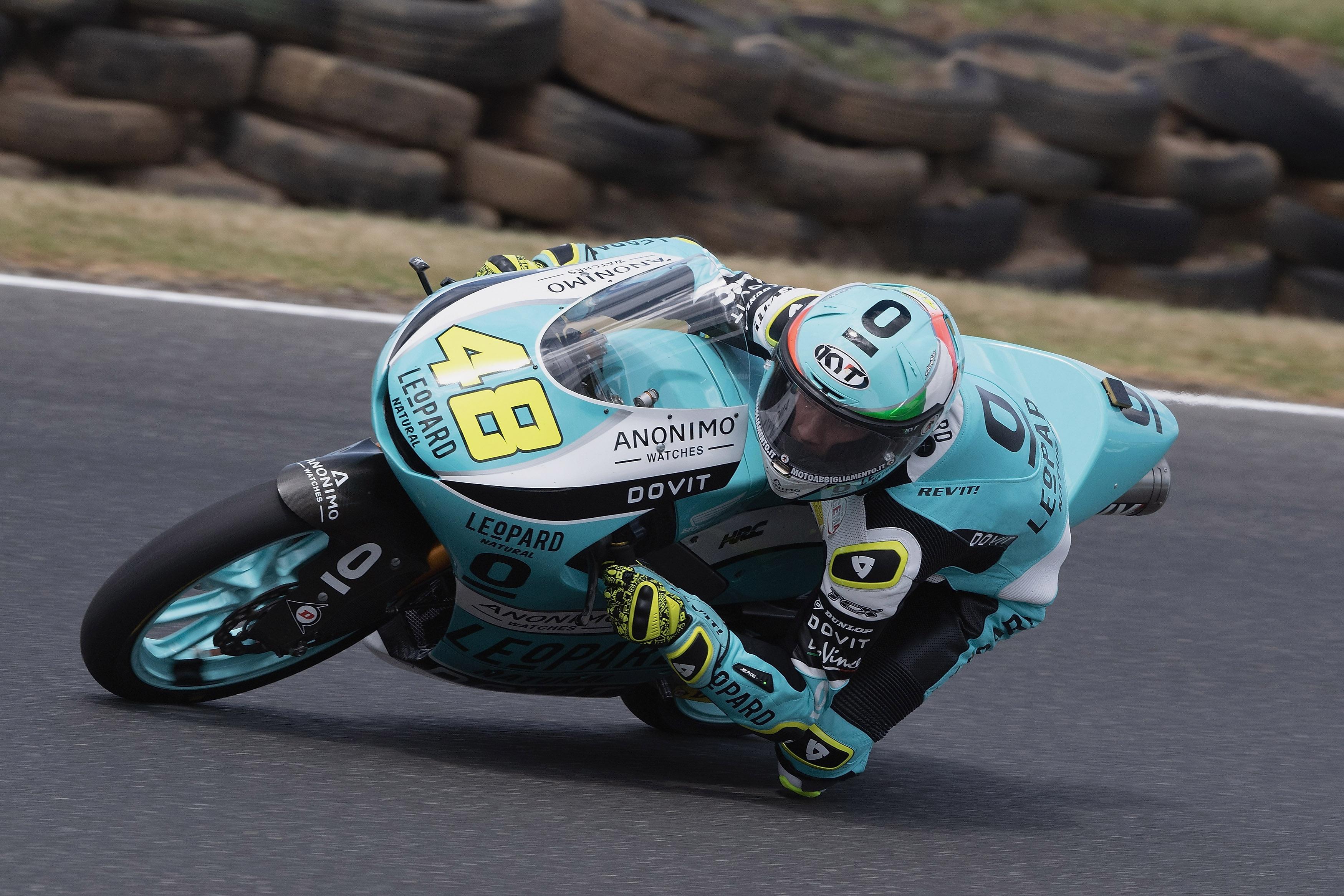 Lorenzo Dalla Porta se proclama campeón del mundo de Moto3 ganando en Australia