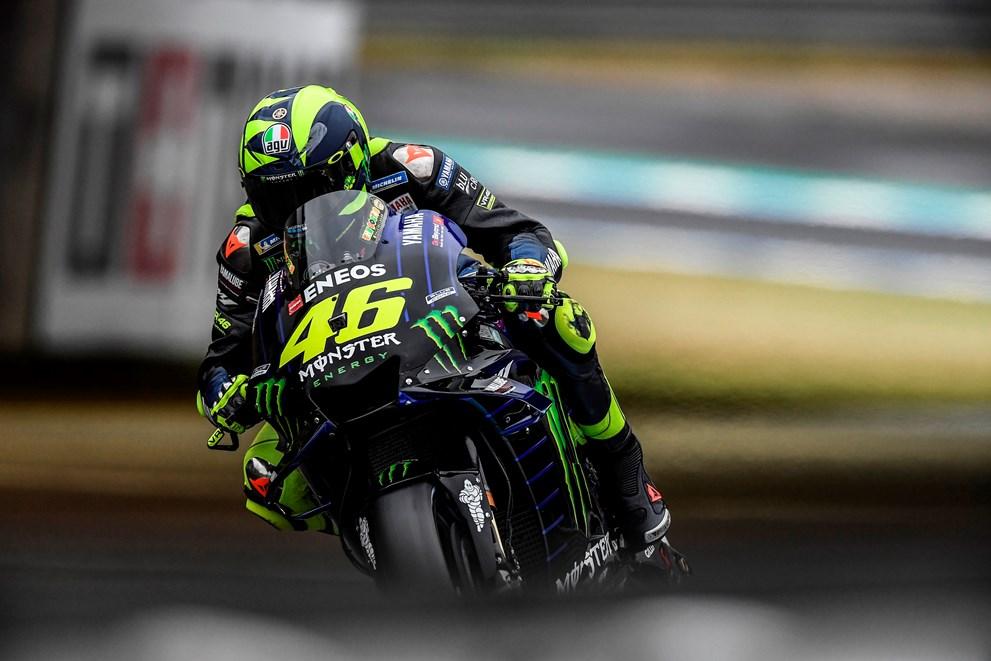 Valentino Rossi vive una época para olvidar en Yamaha