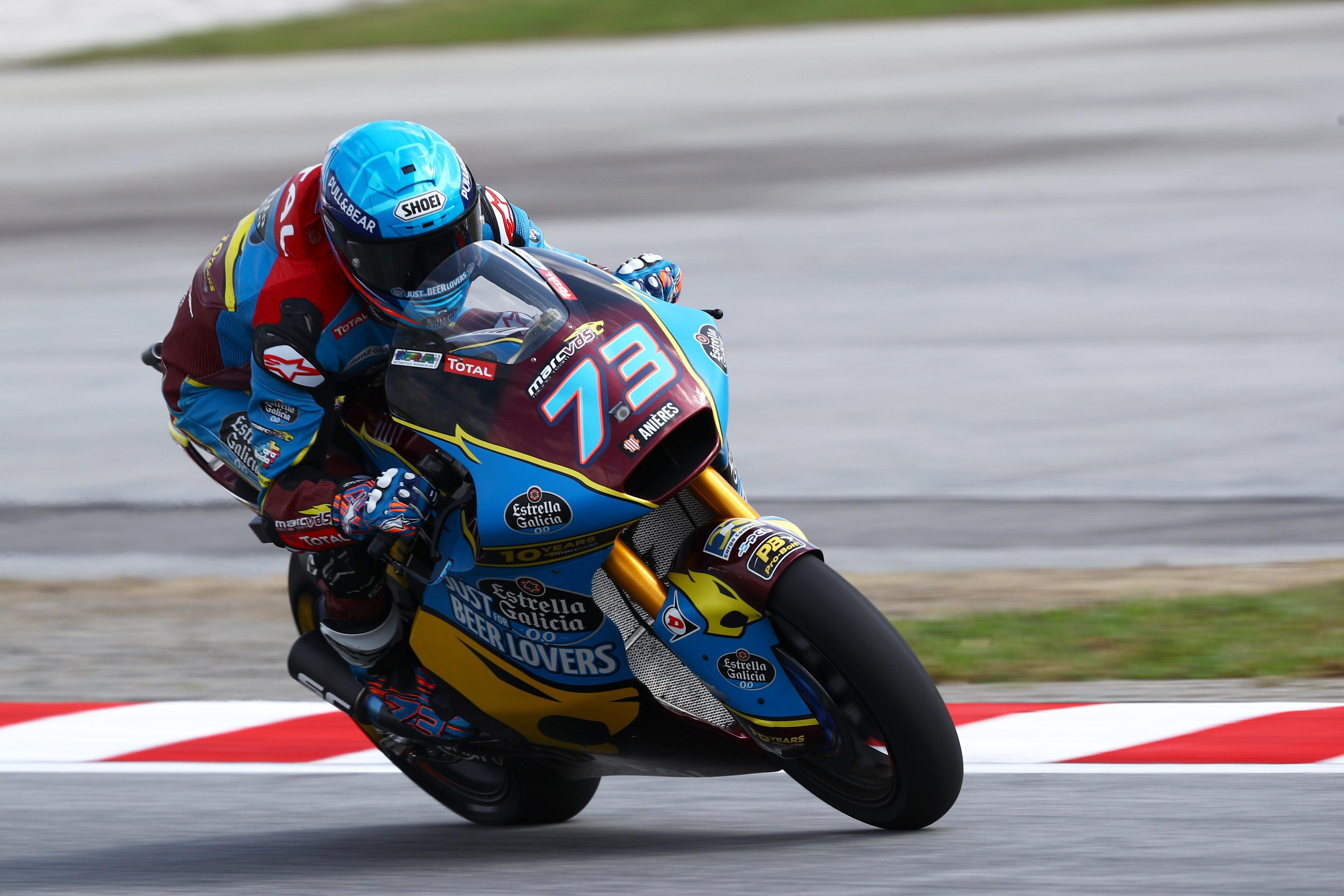 Álex Márquez gana el mundial de Moto2 y Brad Binder vence en Sepang
