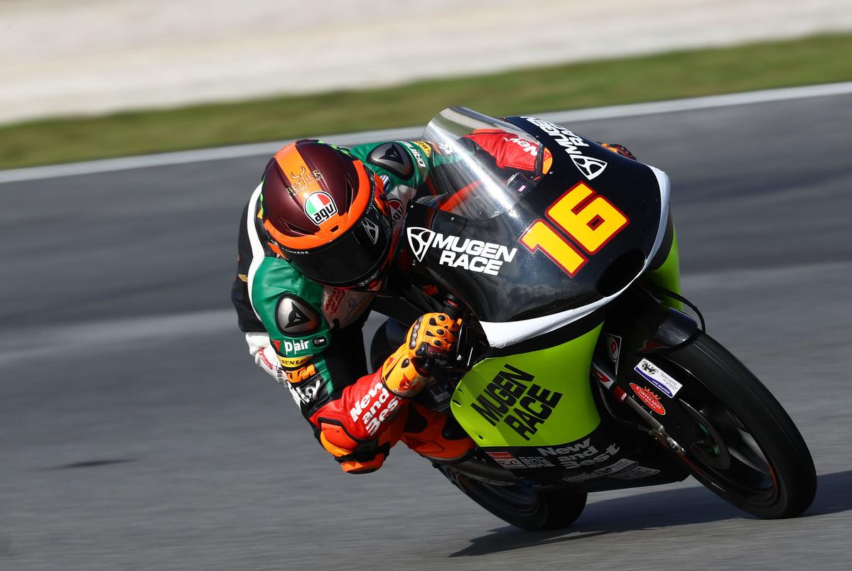 Andrea Migno se estrena haciendo su primera pole en el GP de Valencia