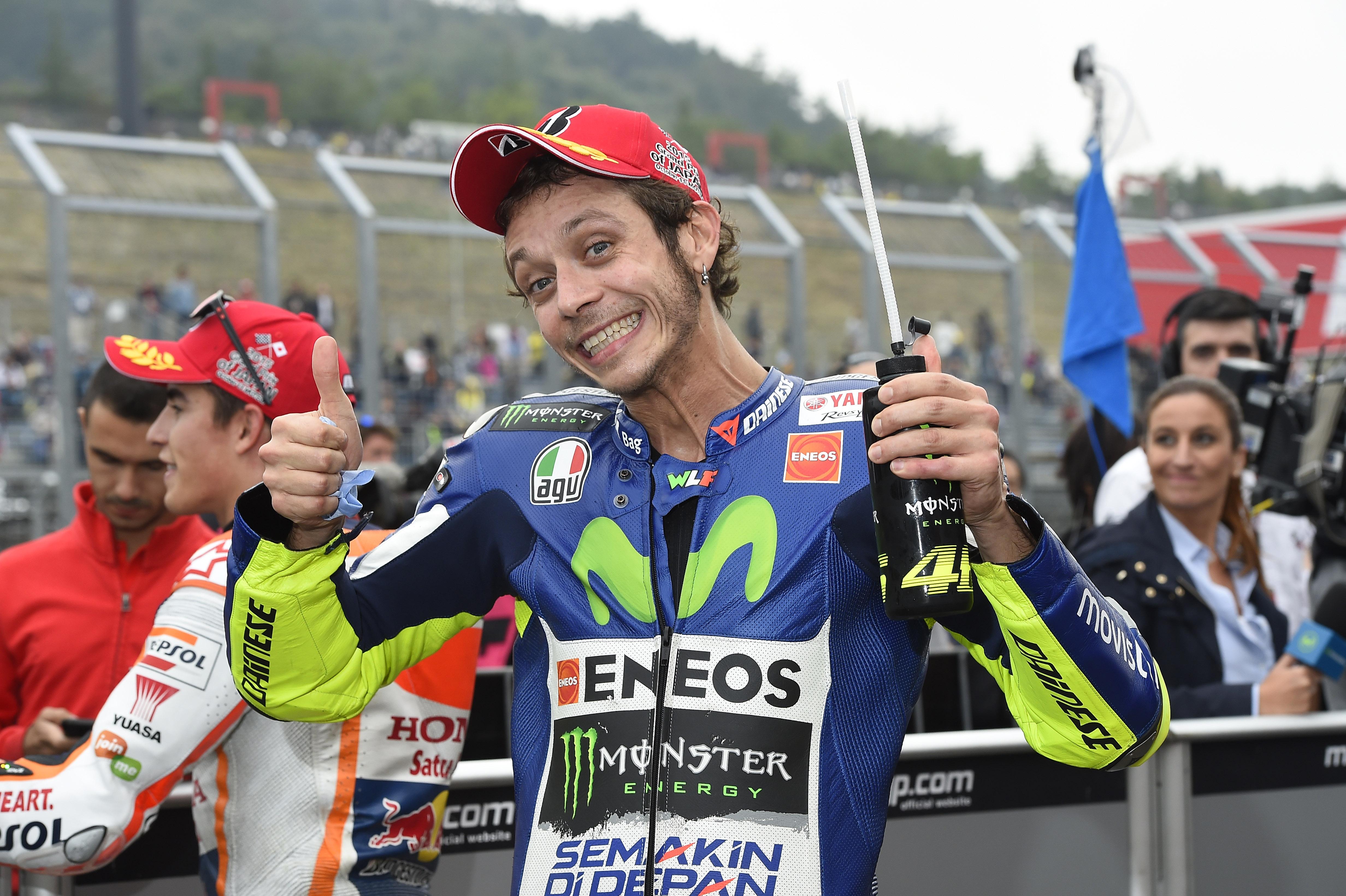 Valentino Rossi quiere el décimo título y un hijo