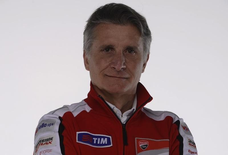 3 preguntas incómodas a…  Paolo Ciabatti, director deportivo del Ducati Reparto Corse