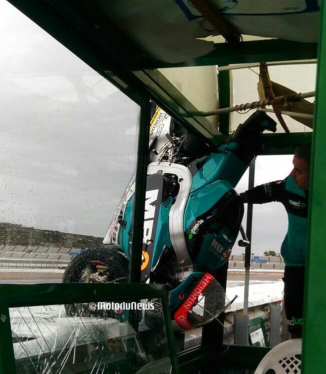 Los tiempos del test de Valencia de moto2 y moto3. Día 2