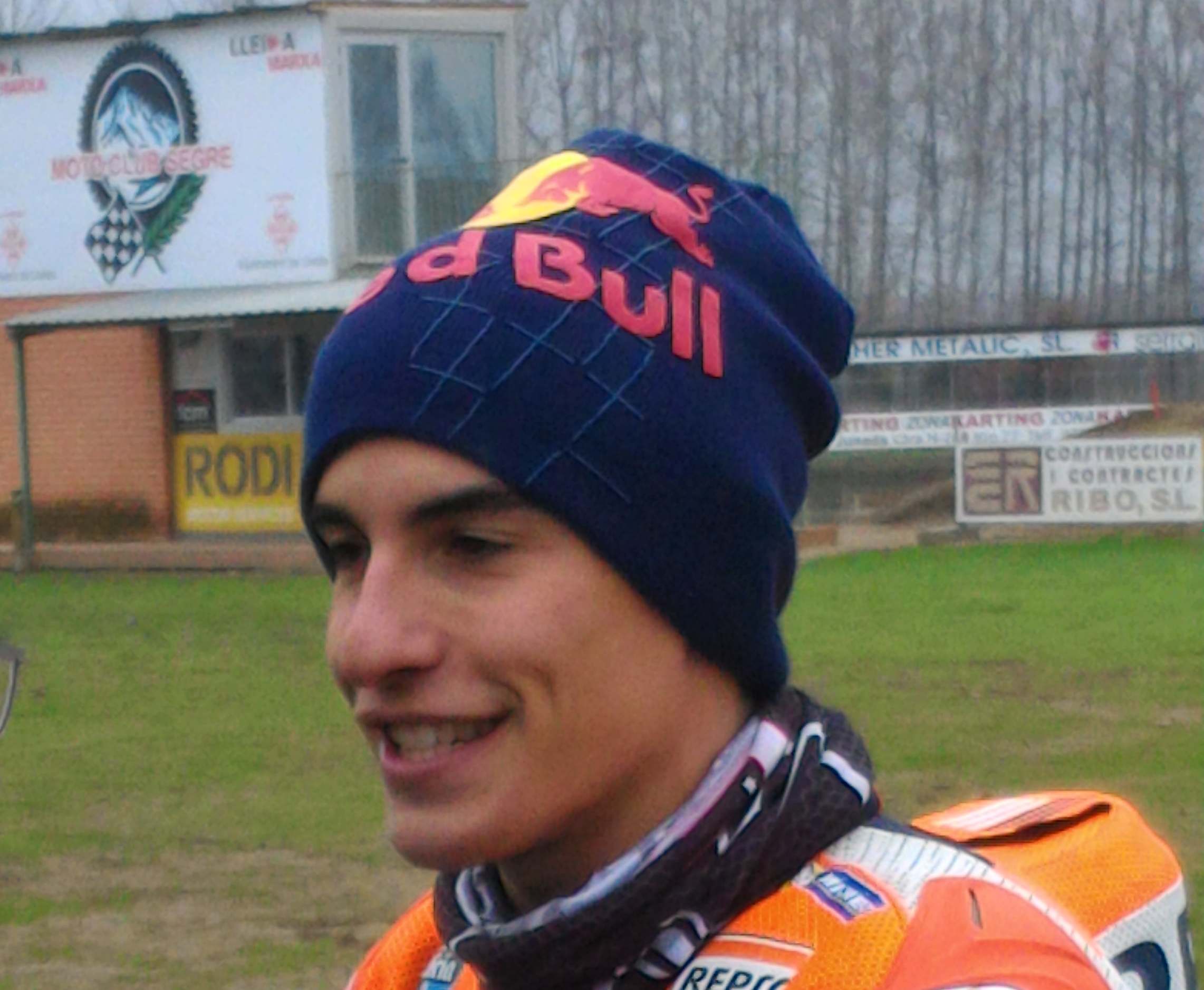 Marc Márquez intentó ir a USA a correr dirt track