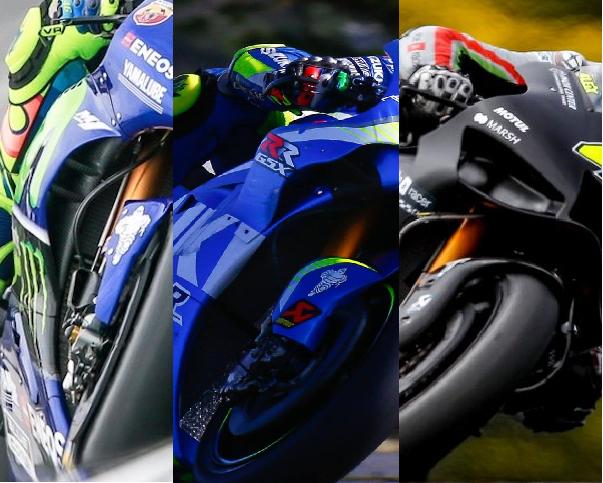 Aerodinámica MotoGP: alerones y conductos internos variables