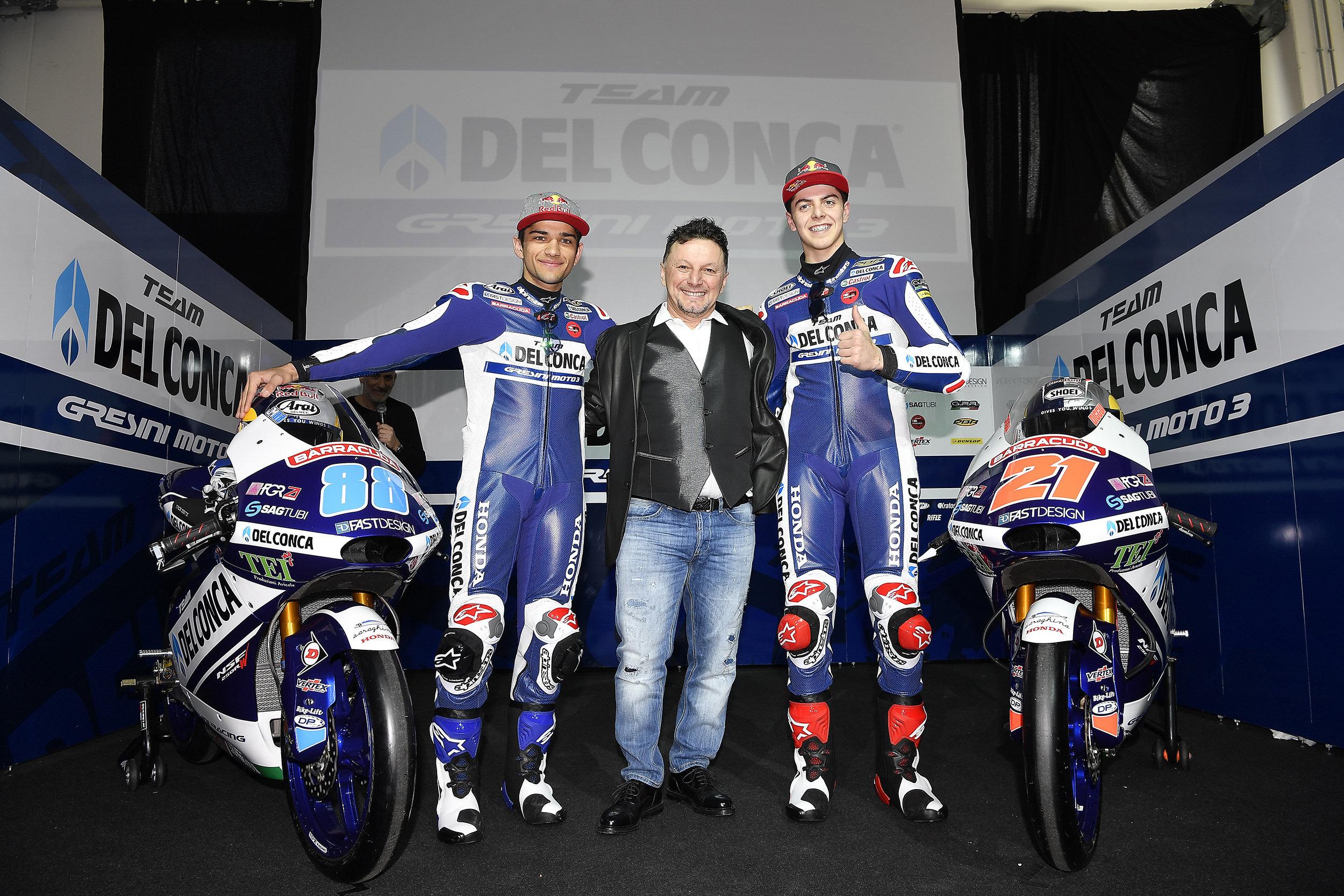 Gresini presenta el equipo de Jorge Martín y Diggia