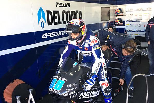 Agridulce estreno del Gresini Racing en Moto3