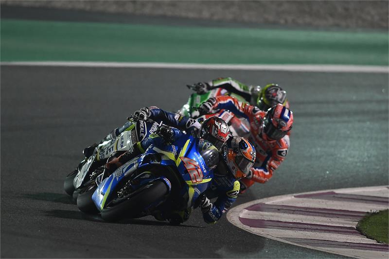 Álex Rins, mejor debutante de MotoGP