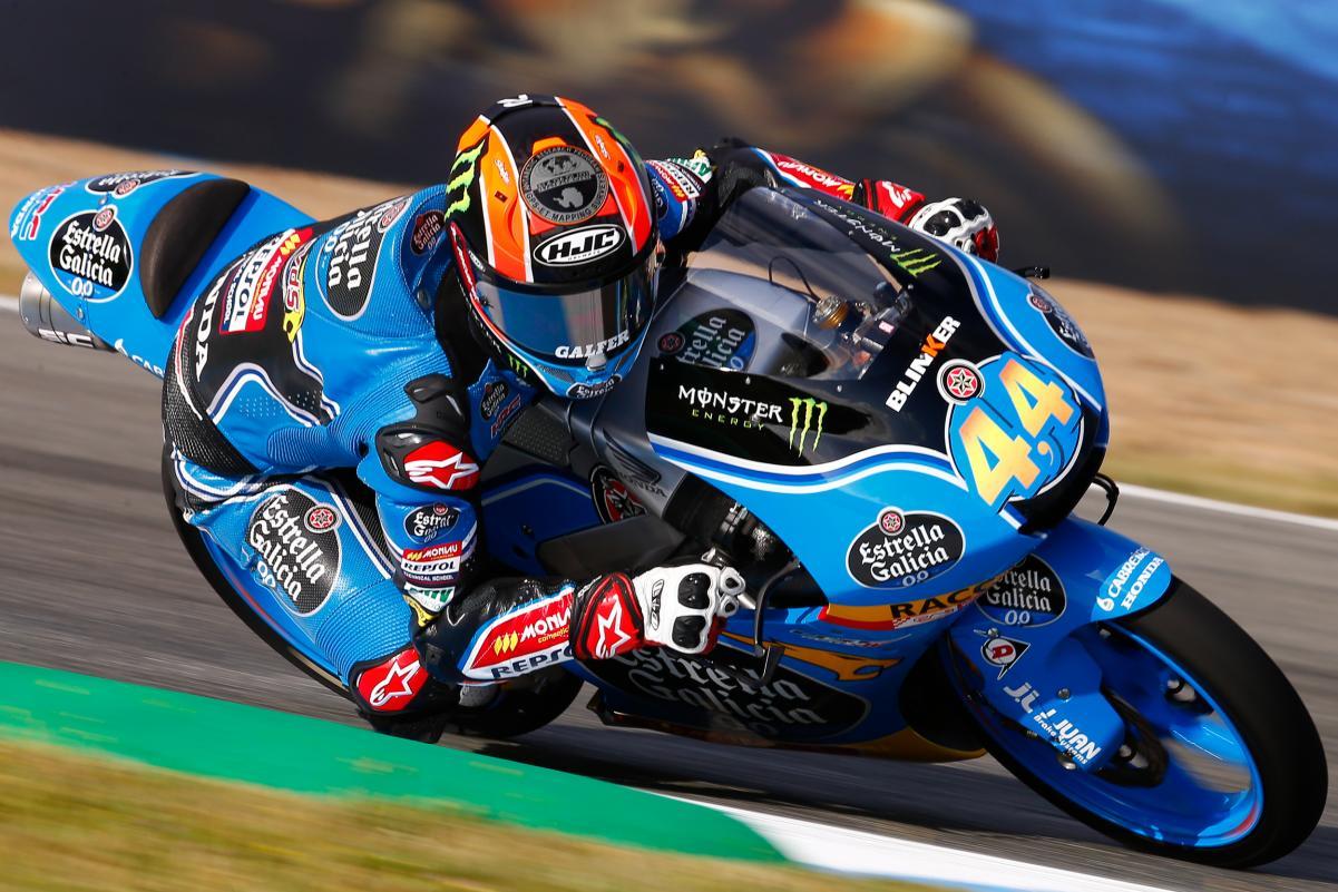 Primera victoria de Canet en una apretadísima carrera en Jerez