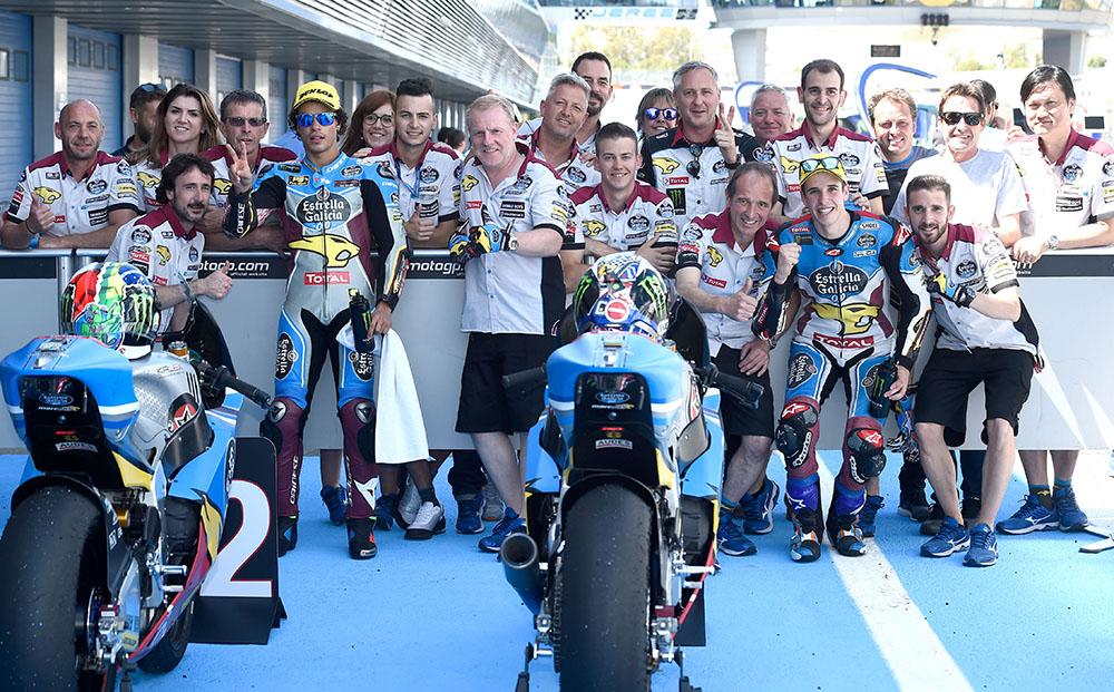 Álex Márquez descorcha las poles en Jerez