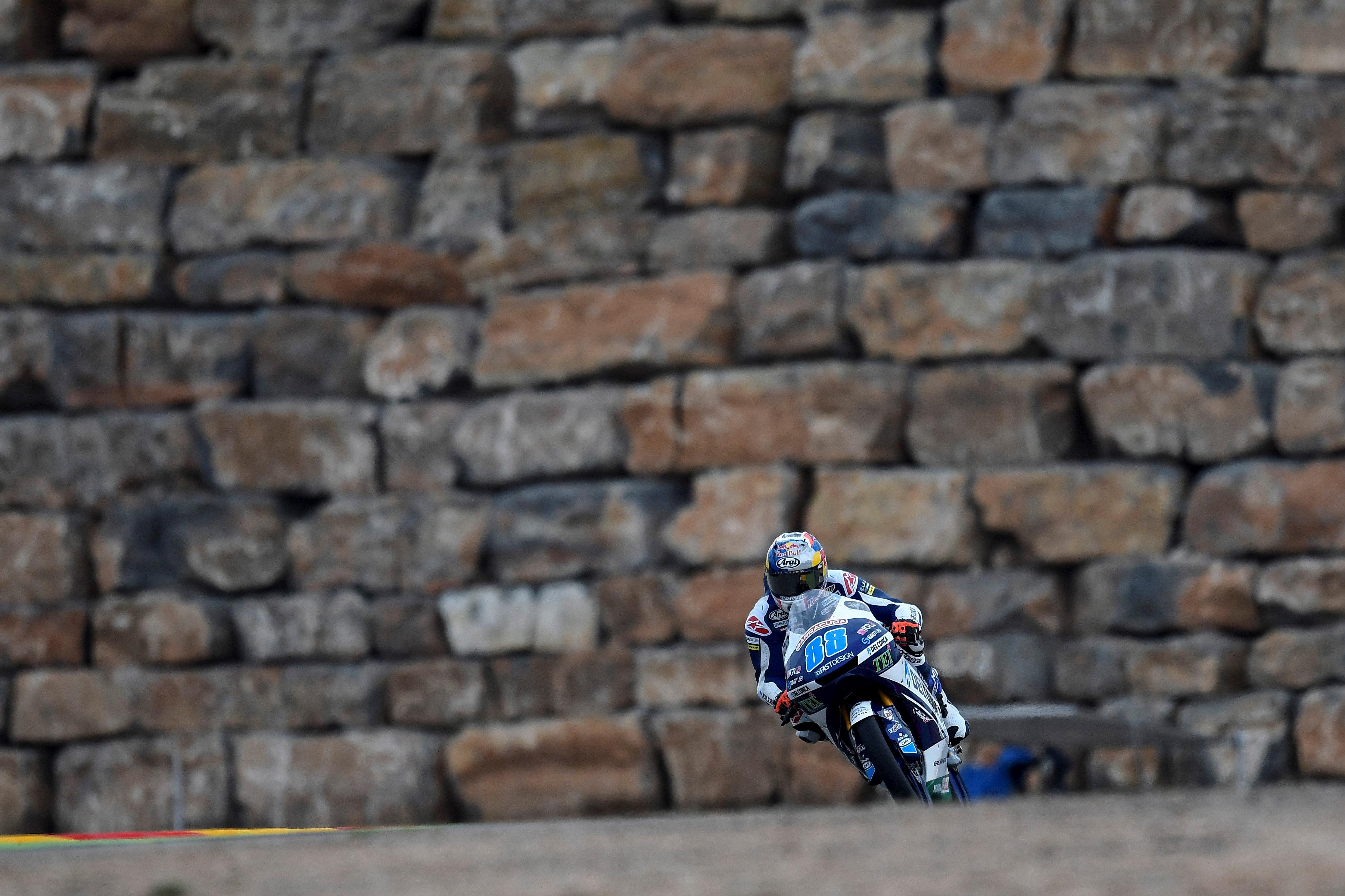 Jorge Martín se lleva la pole en un sistema de clasificación caótico