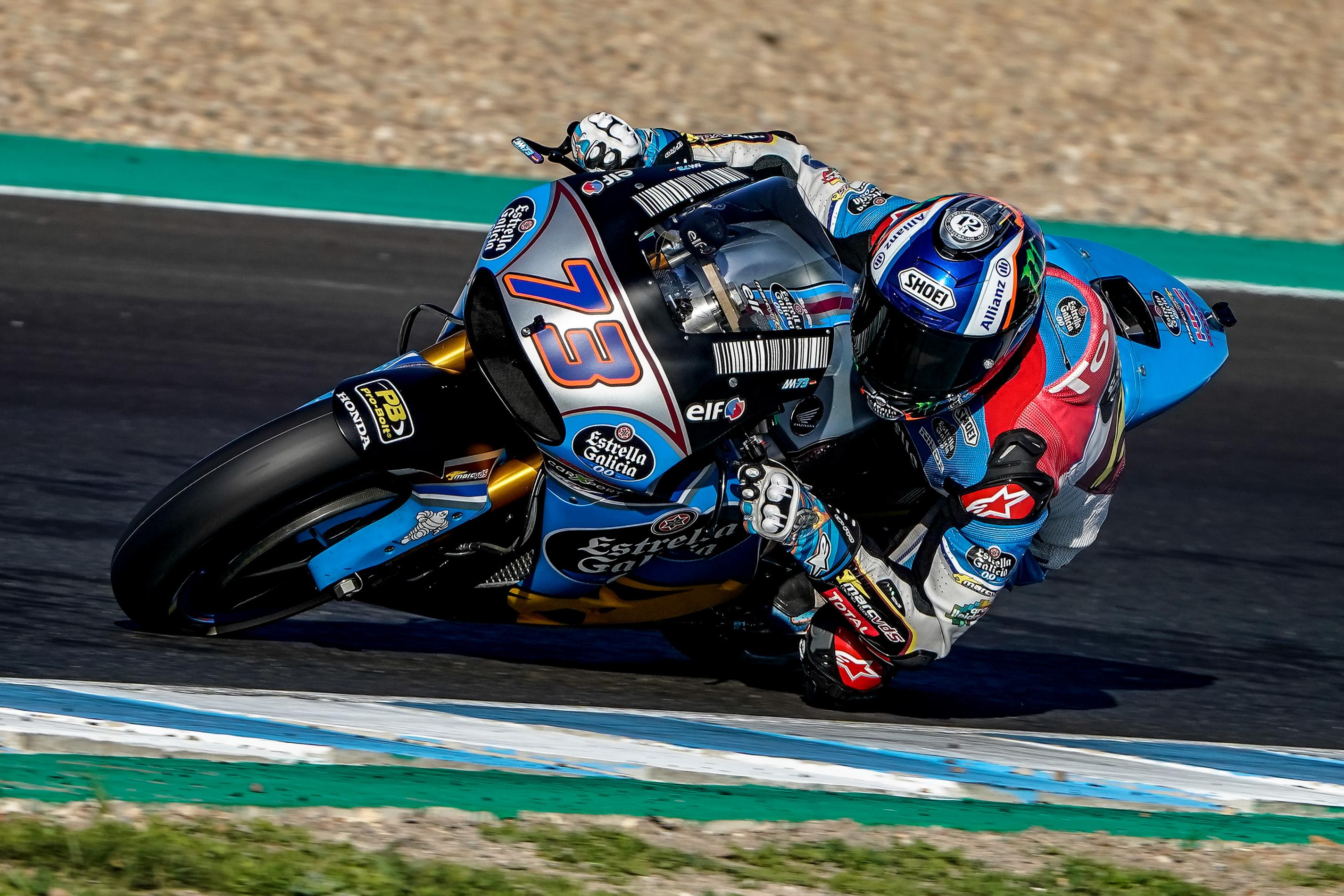 Las sensaciones de Alex Márquez con la MotoGP. Mañana hará todo el día, y va a ir en serio.