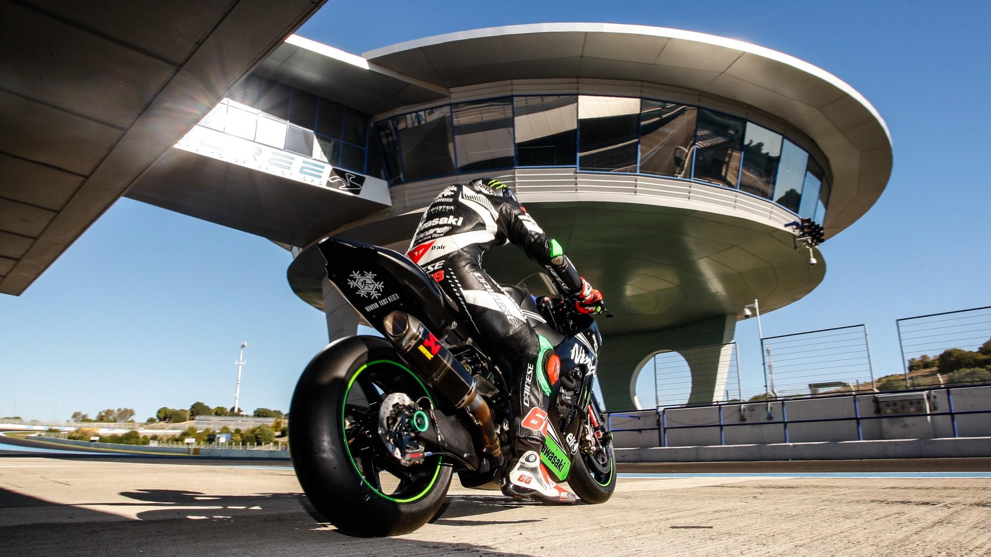Test de Jerez – Superbikes. Kawasaki sigue en cabeza, hoy con Tom Sykes