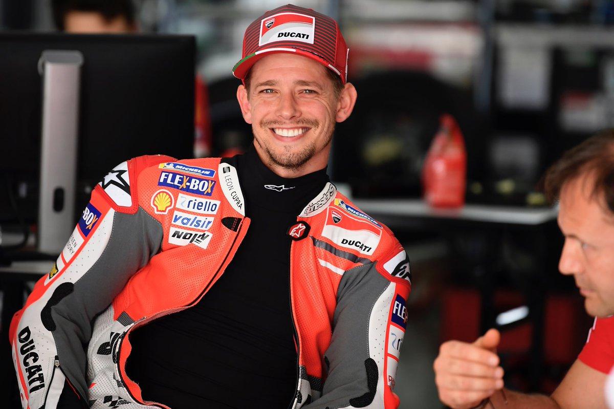 En Ducati, Casey Stoner habla sobre la nueva moto: el chasis les permitirá girar mejor