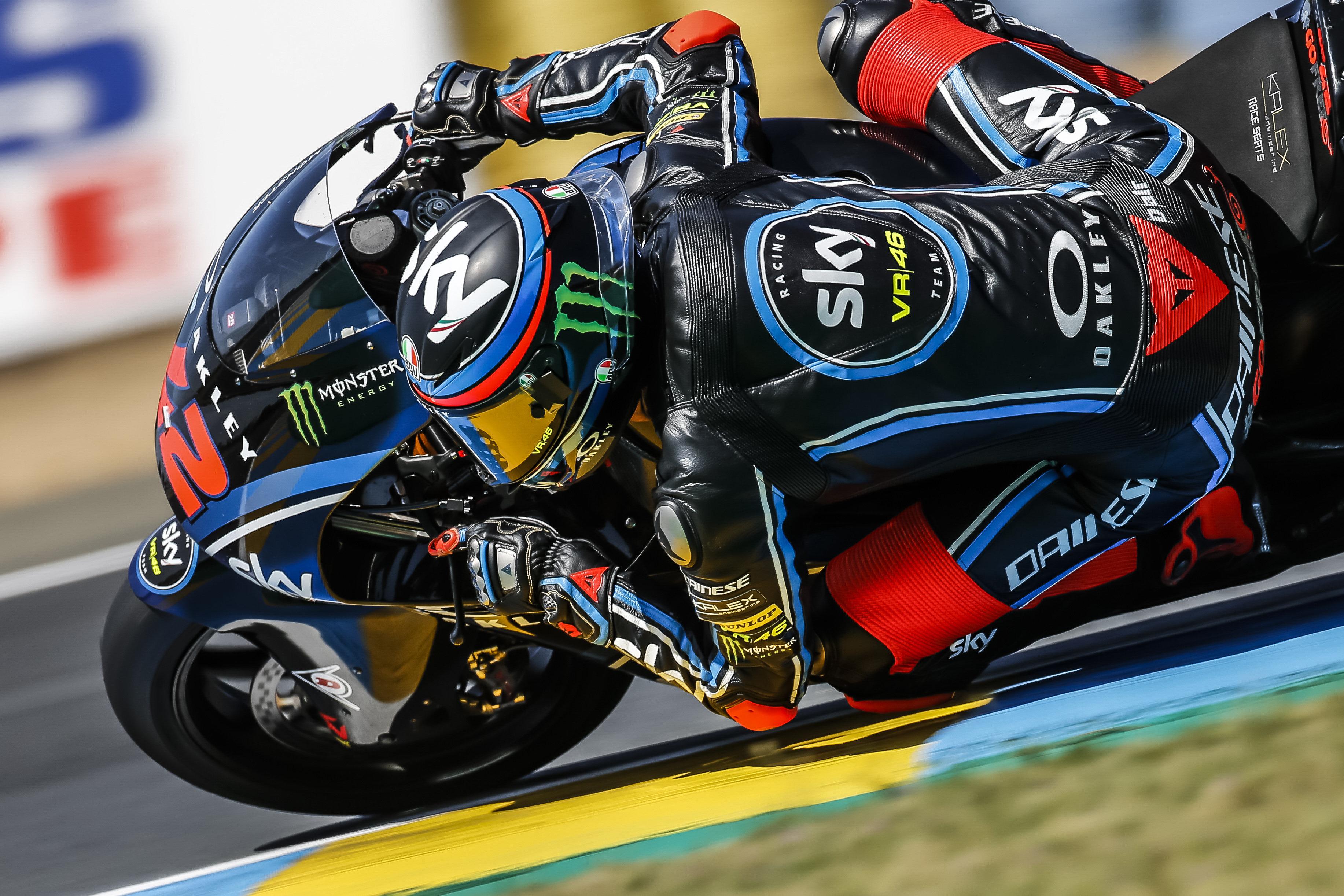 Pecco Bagnaia de nuevo, problemas de nuevo para Álex Márquez, primer podio de Joan Mir