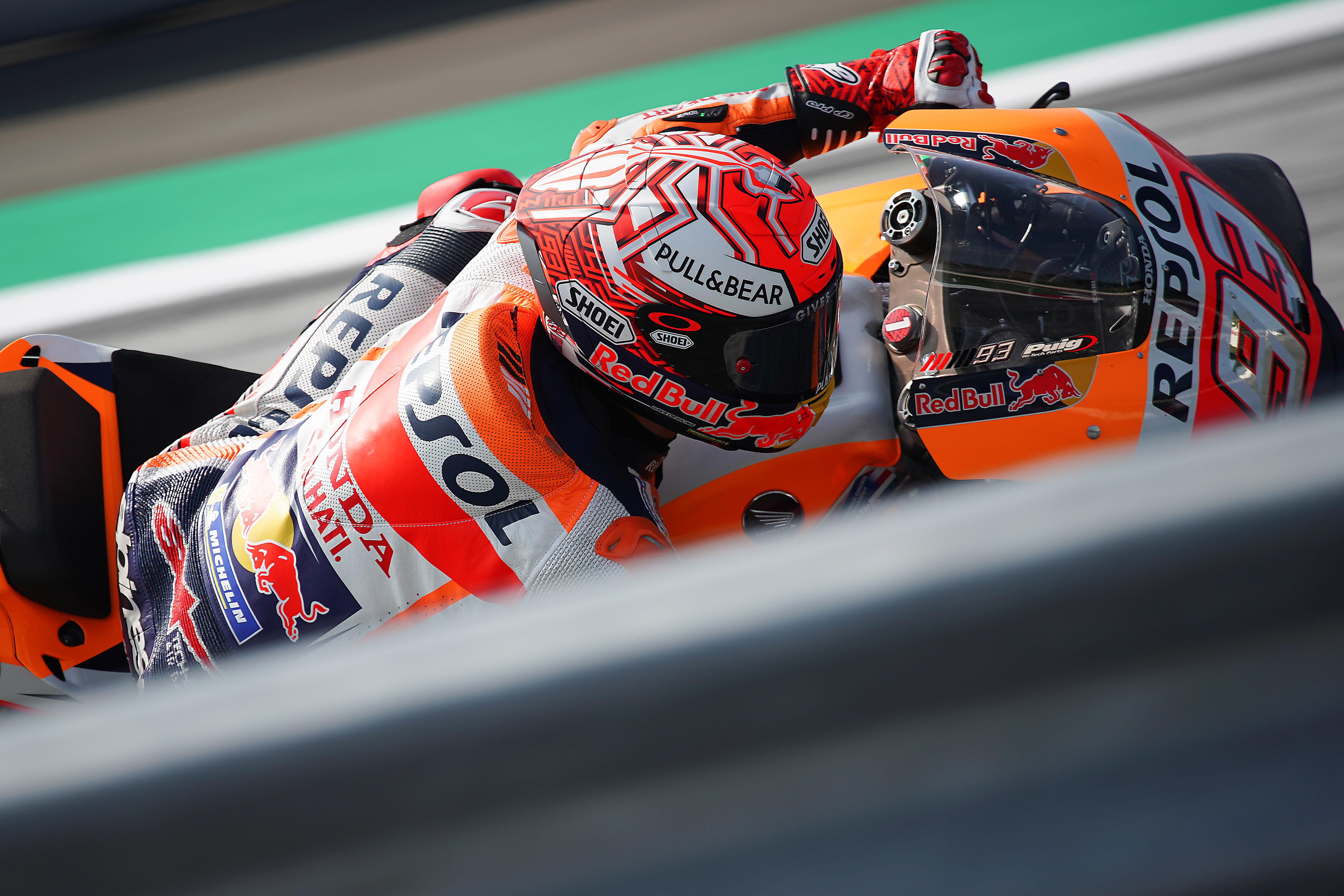 Marc Márquez de nuevo en Pole, ante el ejército Ducati